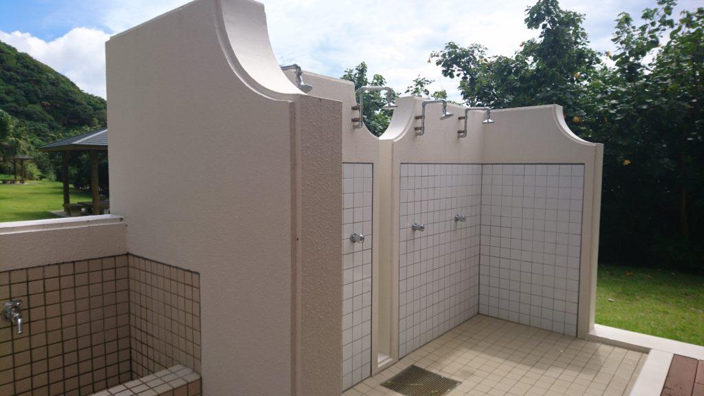 大浜海浜公園シャワー設備