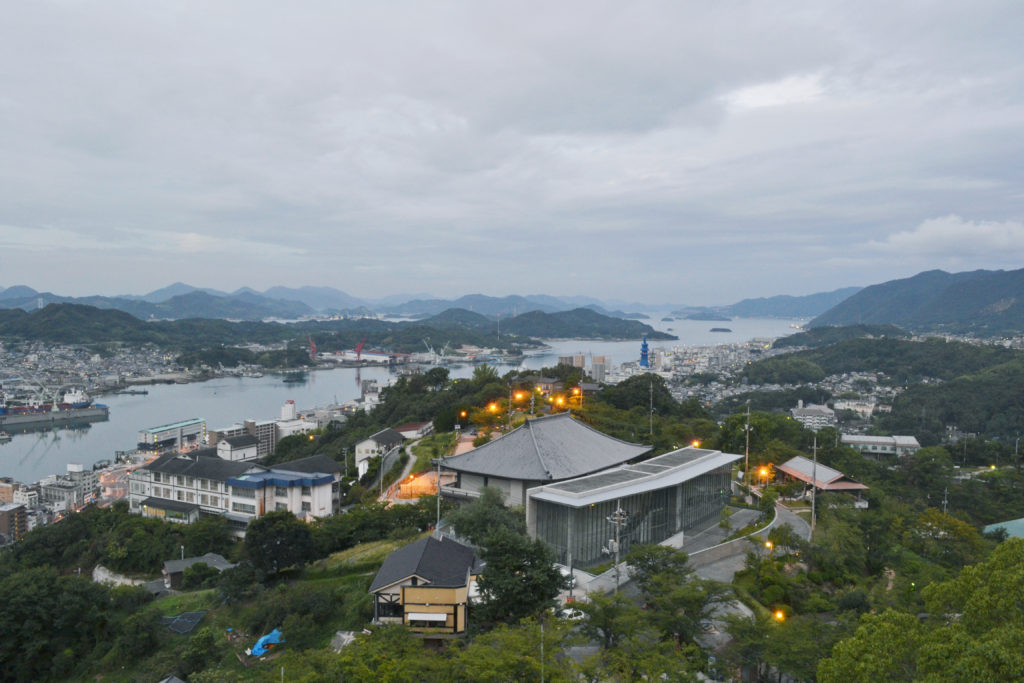 尾道展望台からの眺め