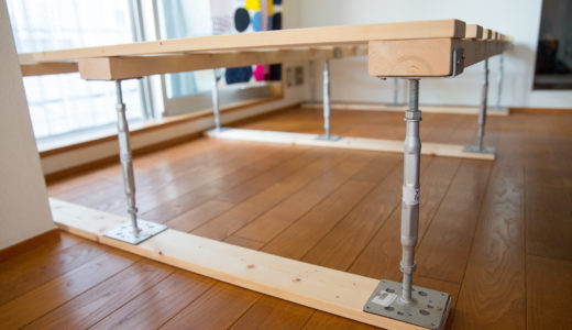 DIYでベッドフレームを作る!鋼製束で簡単に家具製作
