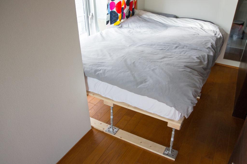 ベッドフレーム ベッド設置