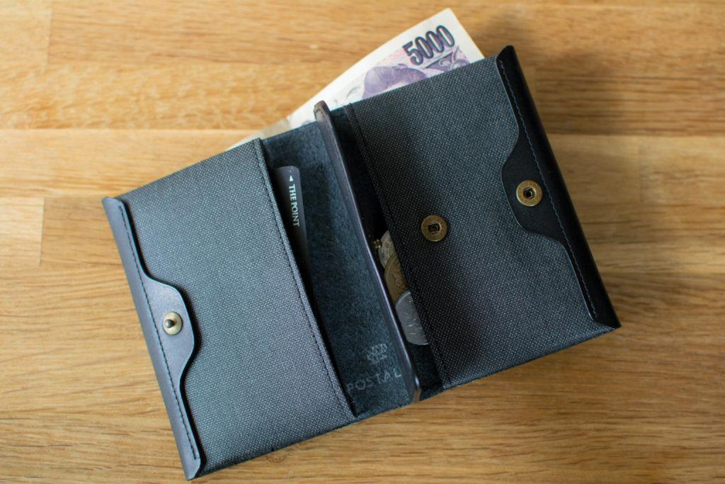 ポスタルコ 財布 機能