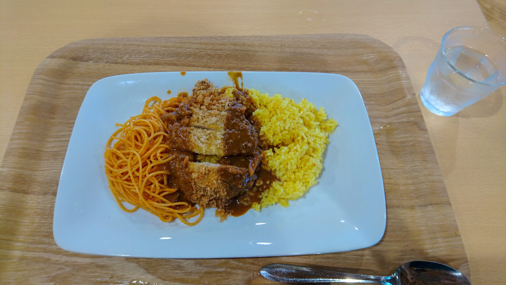 長崎県庁 食堂 トルコライス