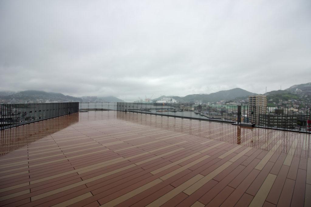 長崎県庁 8階 展望台テラス