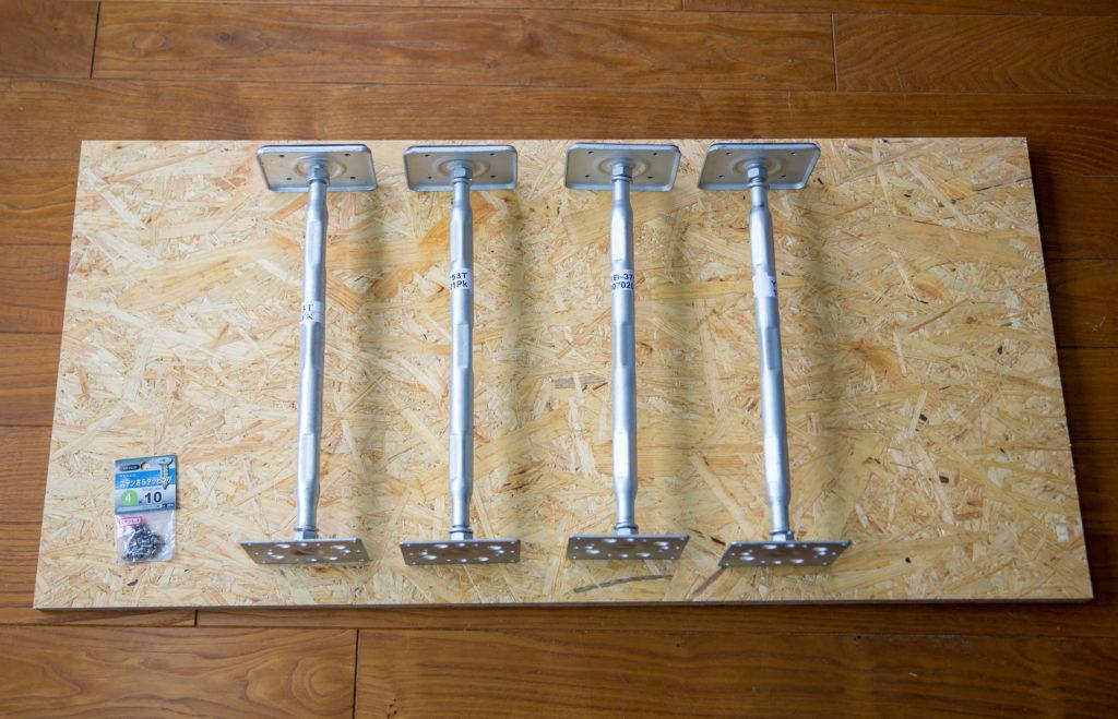 鋼製束とOSB合板