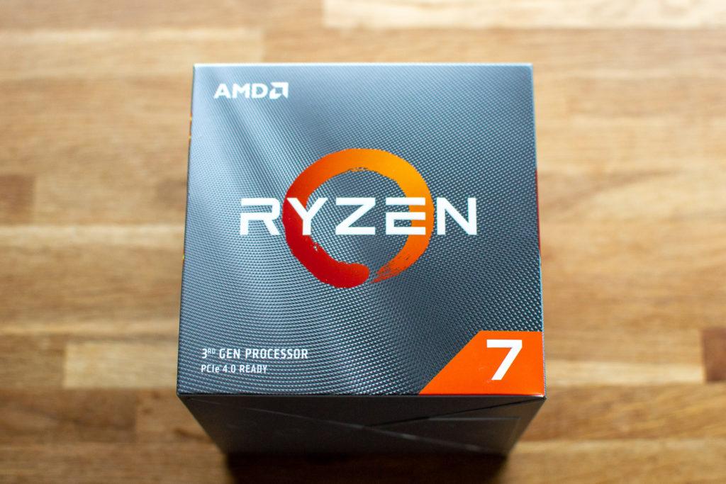 AMD Ryzen 3700X 自作