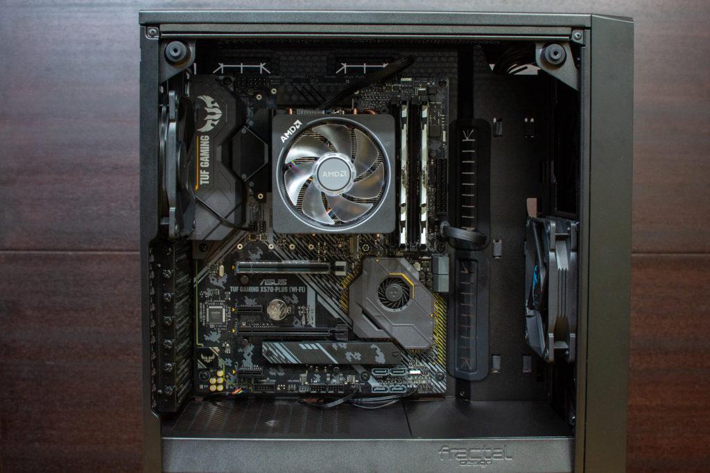 自作PC マザーボード PCケース