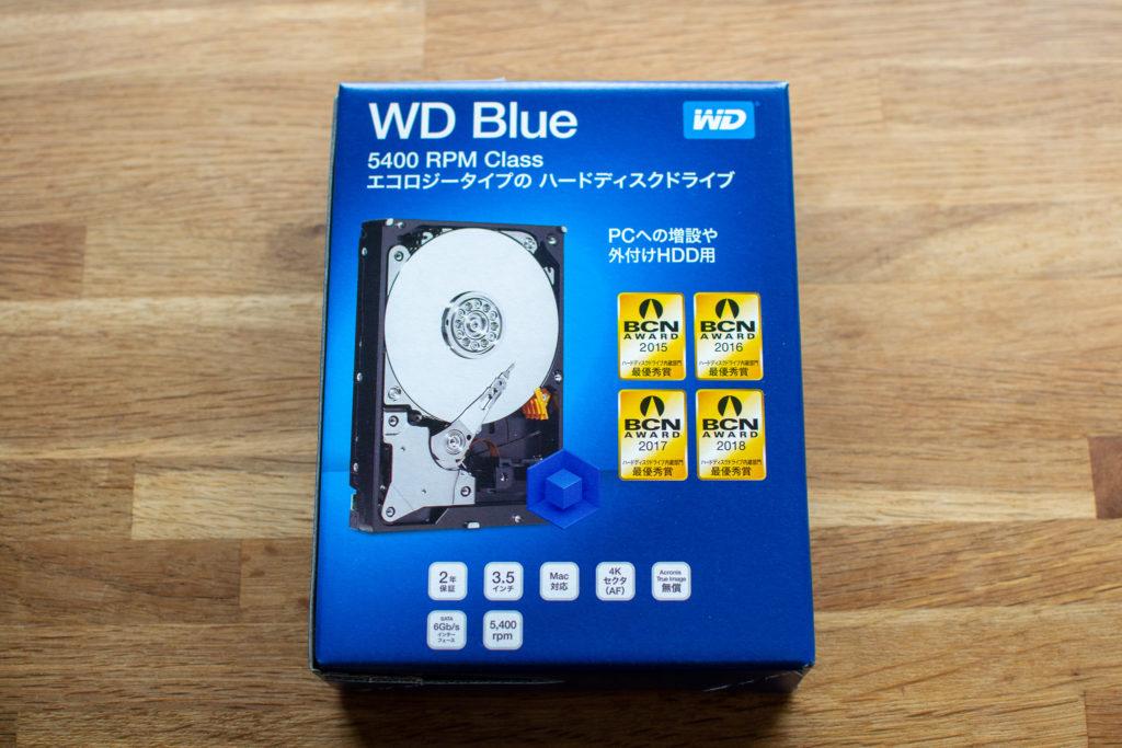 WD40EZRZ-RT2 4TB SATA600 5400 HDD PC自作
