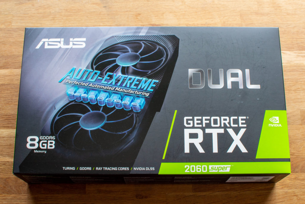 ASUS DUAL RTX2060S 8G EVO 自作PC GPU