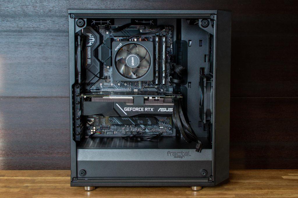 Ryzen 3700X PC自作 完成
