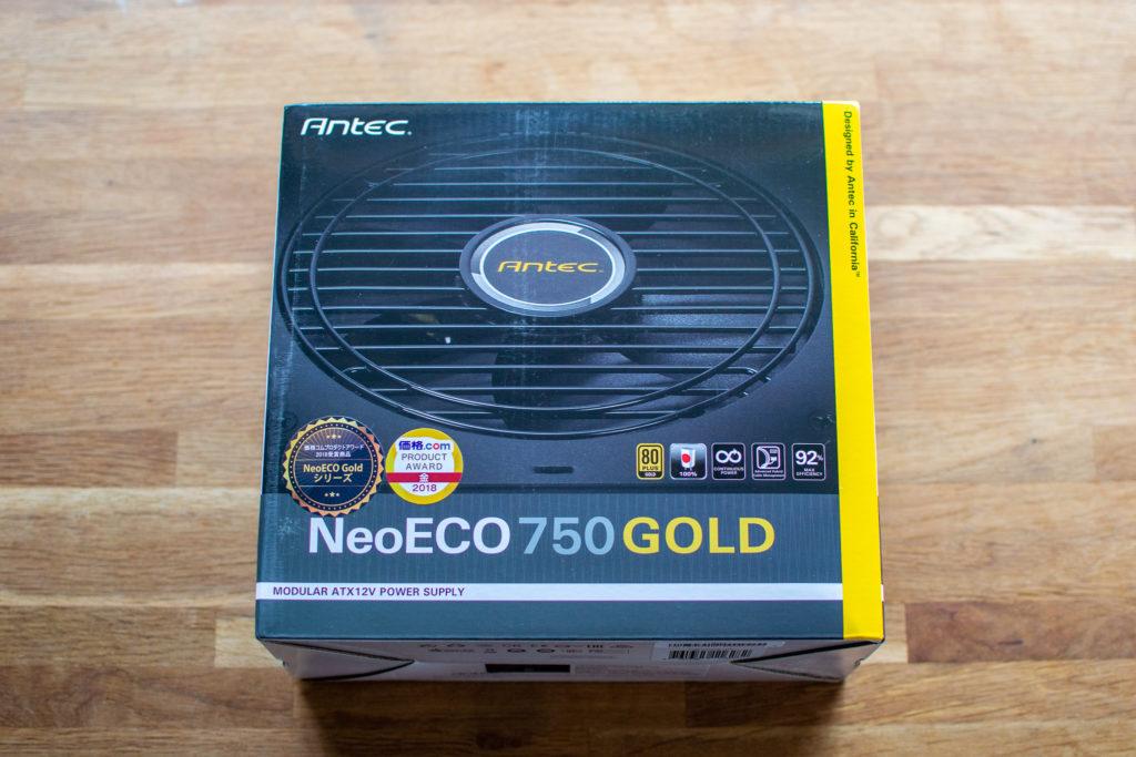 Antec NeoECO Gold NE750G 電源 自作PC