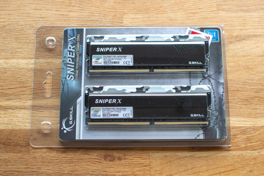 G.Skill F4 3600C19D 16GSXWB 8GB メモリ