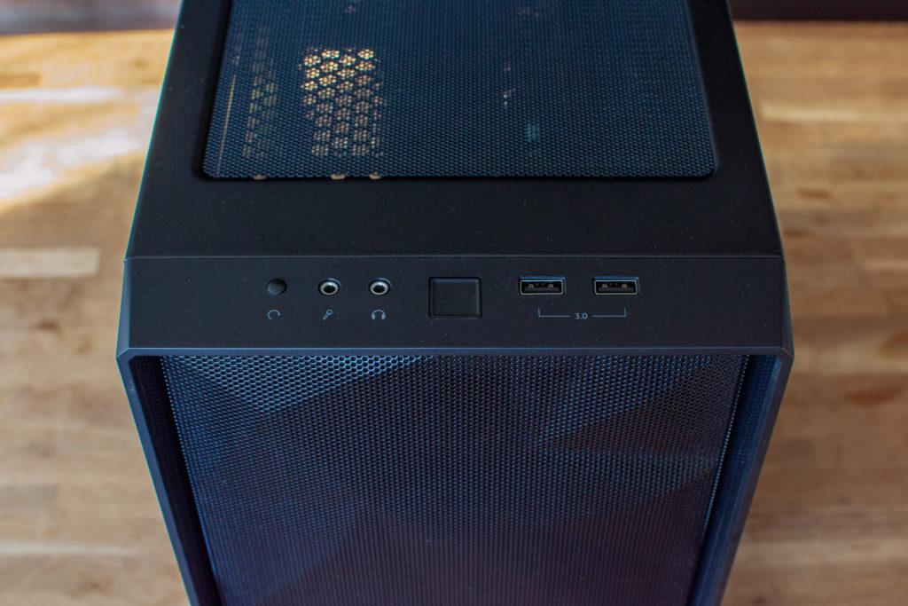 Ryzen 3700X PC自作 完成 前面