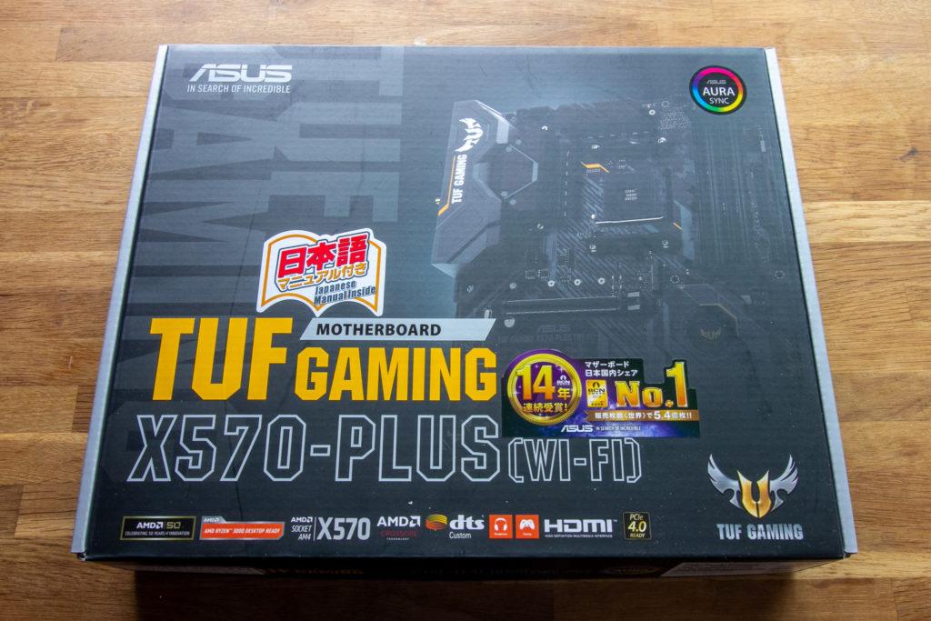 ASUS TUF GAMING X570-PLUS (WI-FI) PC自作